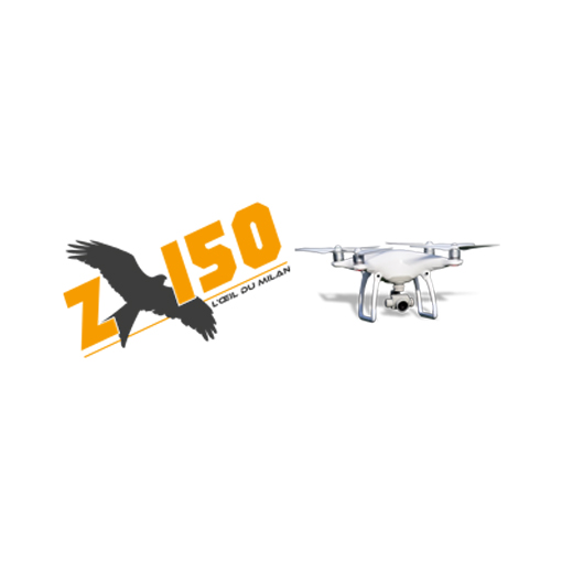 Logo z150 l oeil du milan photo et video par drone